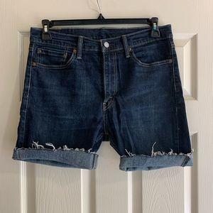 Levi's denim cut off shorts 510